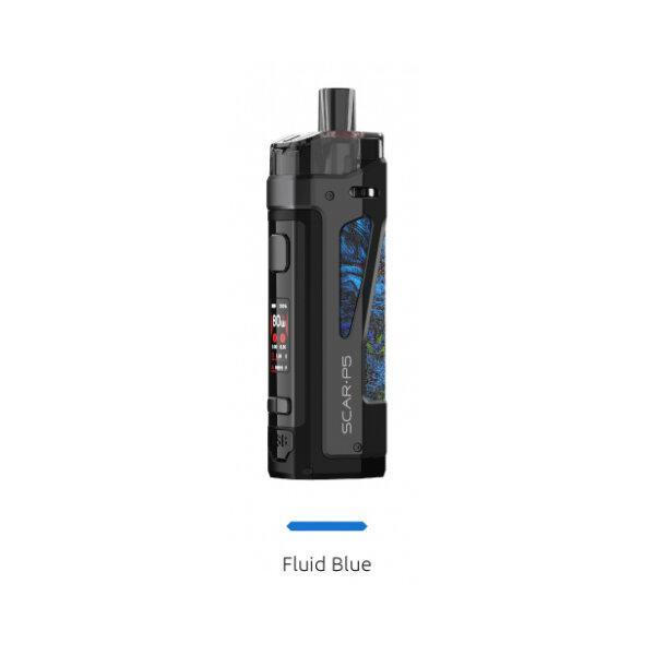 [โปร 7 วัน] V [บุหรี่ไฟฟ้าพอด] POD SMOK Scar P5 80W Pod Kit [แท้] [ถ่านแยกขาย]