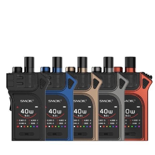 บุหรี่ไฟฟ้า SMOK-Mag 40W Pod System Kit 1300mah [แท้] (แบตในตัว)