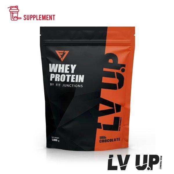 อาหารเสริมเวย์โปรตีน: LV UP WHEY PROTEIN (รสช็อกโกแลต)