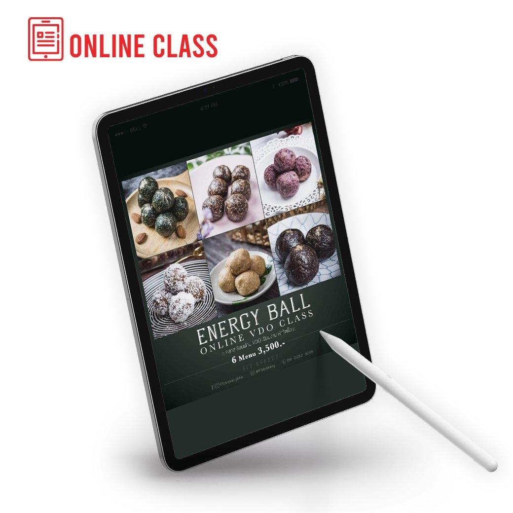 Online Class: Fit Bakery 6 เมนู Energy Ball