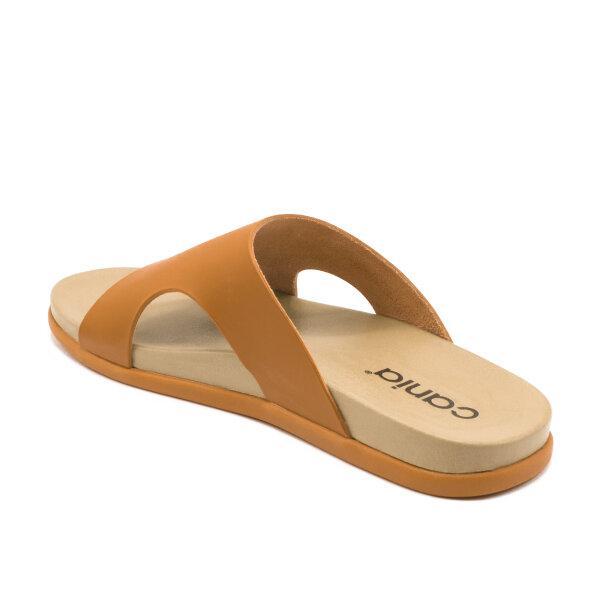 CANIA คาเนีย รองเท้าแตะลำลองชาย รุ่น CM12122 - สีดำ, น้ำตาล, แทน, กรม Size 40-44
