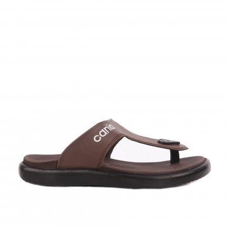 CANIA คาเนีย รองเท้าแตะลำลองชาย รุ่น CN51017 - สีน้ำตาล Size 40-44