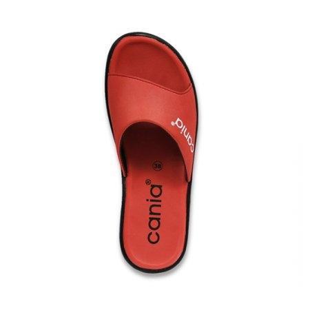 CANIA คาเนีย รองเท้าแตะลำลองหญิง รุ่น CN52054 - สีอิฐ Size 36-39