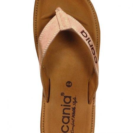 CANIA คาเนีย รองเท้าแตะลำลองชายหญิง รุ่น CM/CW11266 - สีน้ำตาลอ่อน Size 36-44