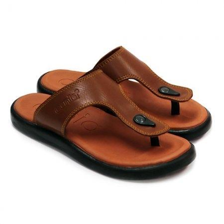 CANIA (คาเนีย) รองเท้าแตะลำลอง รุ่น CN51028 - สีแทน