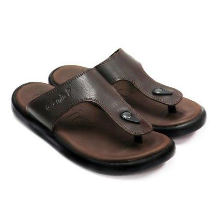 CANIA (คาเนีย) รองเท้าแตะลำลอง รุ่น CN51028 - สีน้ำตาล