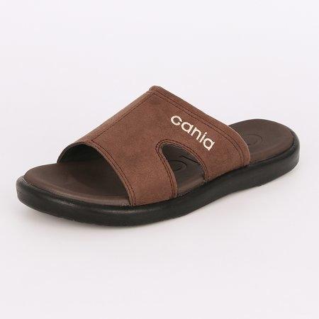CANIA คาเนีย รองเท้าแตะลำลองชาย รุ่น CN52049 - สีน้ำตาล Size 40-44