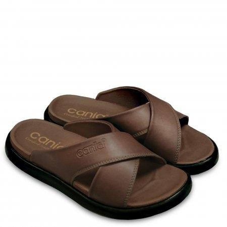 CANIA (คาเนีย) รองเท้าแตะลำลอง รุ่น CN52040 - สีน้ำตาล