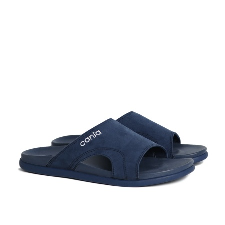 CANIA คาเนีย รองเท้าแตะลำลองชาย รุ่น CM12112 - สีกรม Size 40-44
