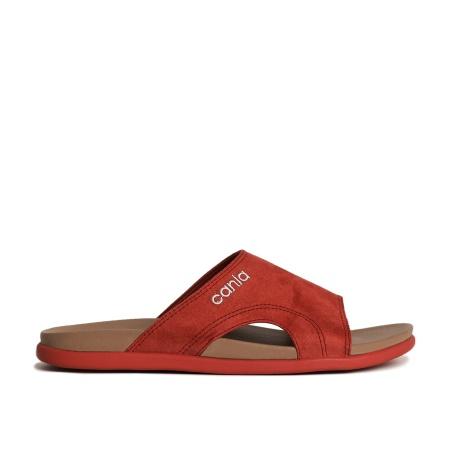CANIA คาเนีย รองเท้าแตะลำลองชาย รุ่น CM12112 - สีอิฐ Size 40-44