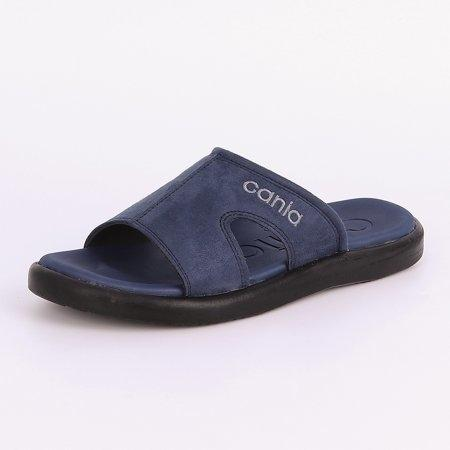 CANIA คาเนีย รองเท้าแตะลำลองชาย รุ่น CN52049 - สีกรม Size 40-44