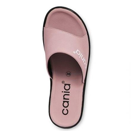 CANIA คาเนีย รองเท้าแตะลำลองหญิง รุ่น CN52054 - สีม่วงอ่อน Size 36-39