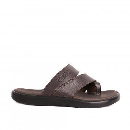 CANIA คาเนีย รองเท้าแตะลำลองชาย รุ่น CN51031 - สีน้ำตาล Size 40-44