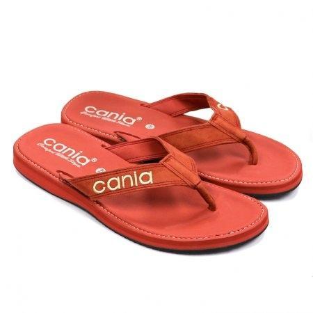 CANIA คาเนีย รองเท้าแตะลำลองชายหญิง รุ่น CM/CW11266 - สีอิฐ Size 36-44