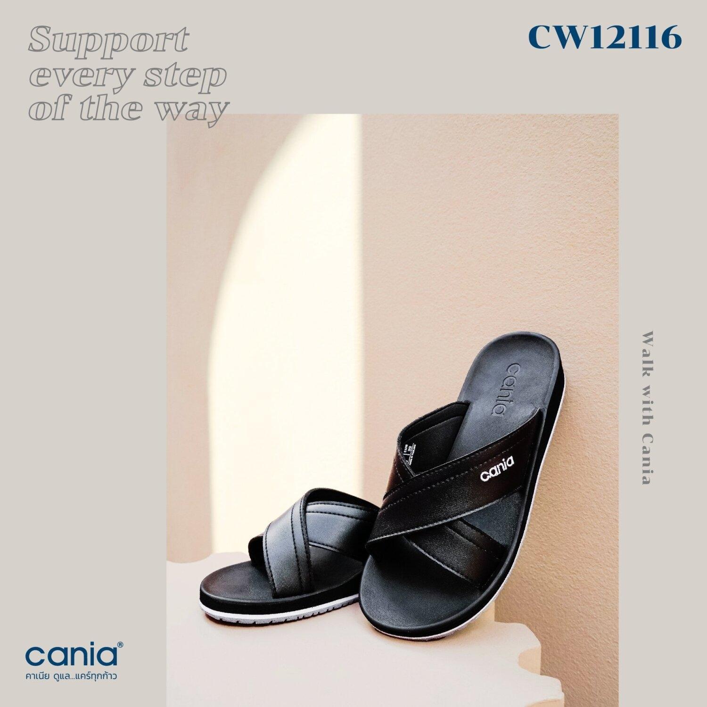 CANIA คาเนีย รองเท้าแตะลำลองหญิง รุ่น CW12116 Size 36-39