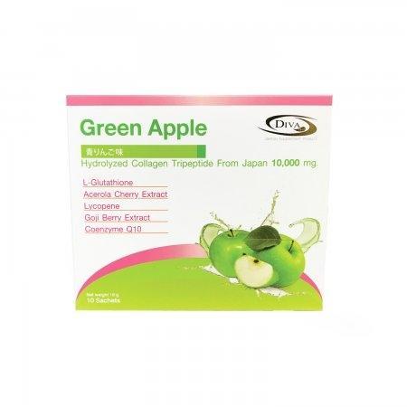 ผลิตภัณฑ์เสริมอาหารคอลลาเจนไตรเปปไทด์ รสเเอปเปิ้ลเขียว คอลลาเจนผิวขาวยี่ห้อไหนดี