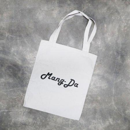 Tote Bag : Mang Da (white) by Chanudom