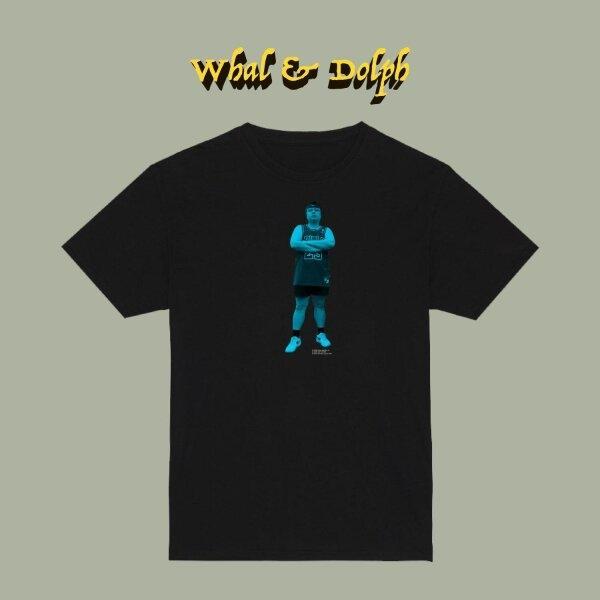 T-Shirt Whal&Dolph (น้ำวน)