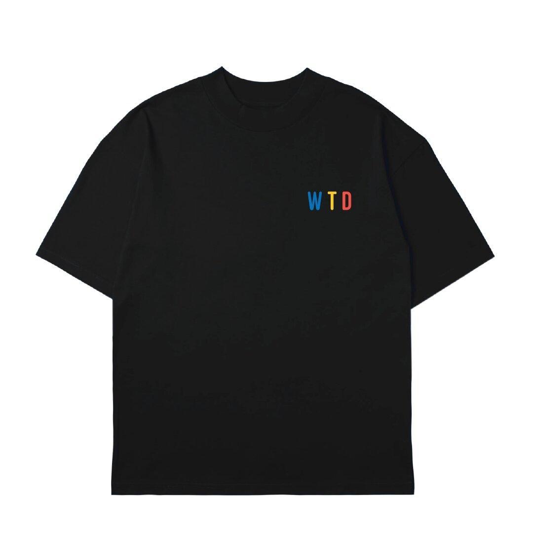 T-shirt : WTD-black