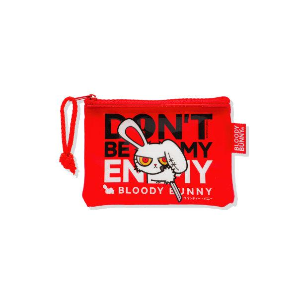 BLOODY BUNNY COIN PVC BAG (CLASSIC/RED)