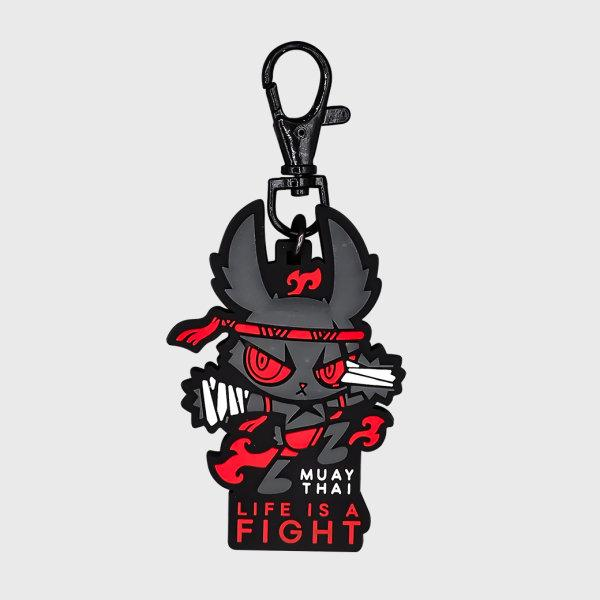 DARK RABBIT (MAUYTHAI) KEYCHAIN