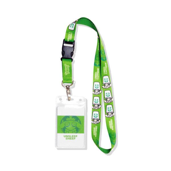 UNSLEEP SHEEP NECK STRAP (STARBUCKS/GREEN)