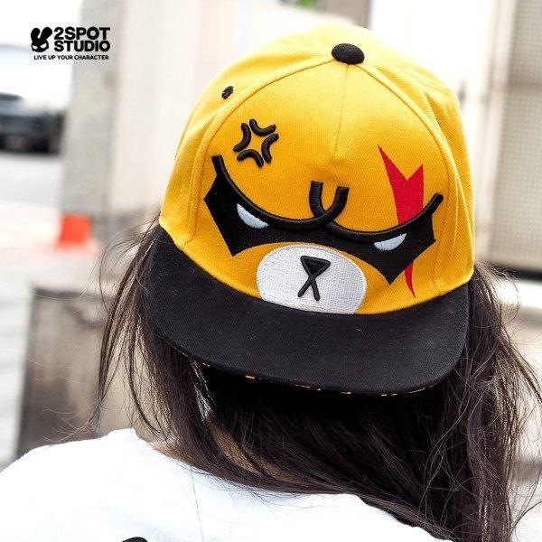 SERIOUS KUMA (FACE) CAP