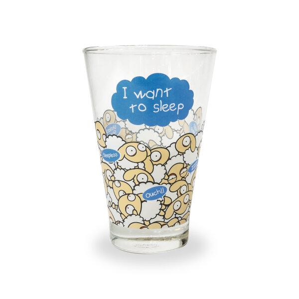 UNSLEEP SHEEP WATER GLASS (MULTI SLEEP)