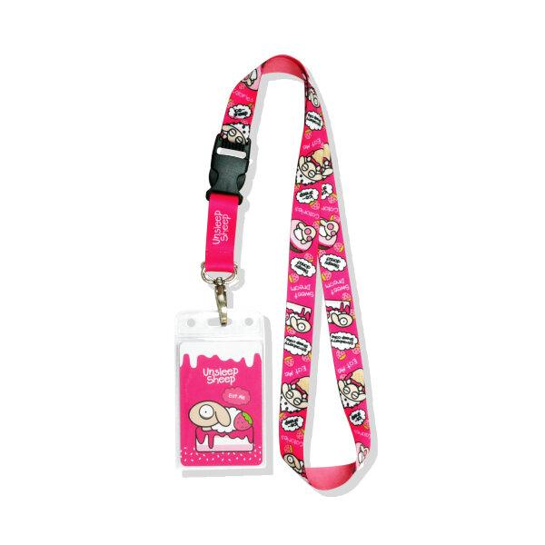 UNSLEEP SHEEP NECK STRAP (SWEET/PINK)
