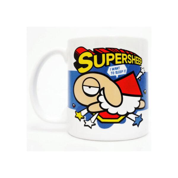 UNSLEEP SHEEP CERAMIC MUG (SUPERSHEEP)