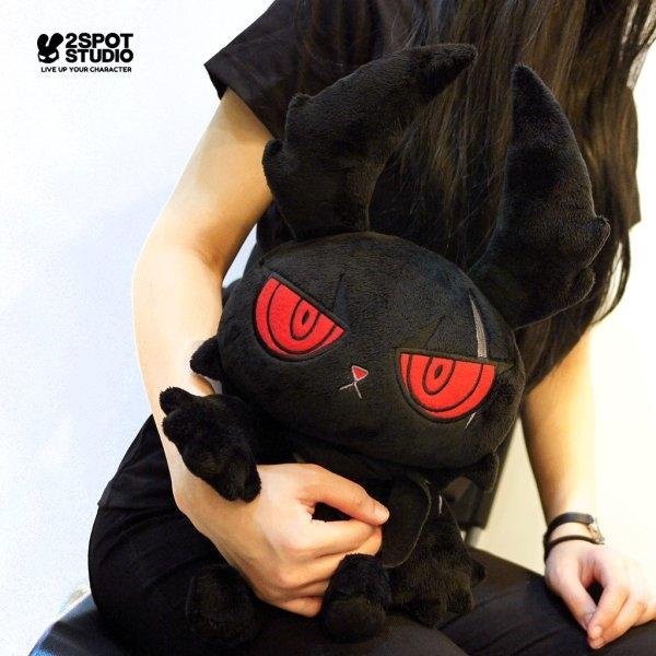 DARK RABBIT PLUSH DOLL 12""