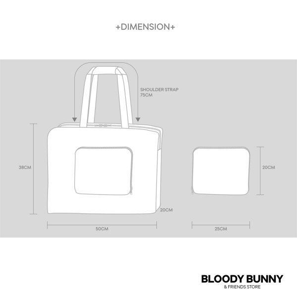 UNSLEEP SHEEP FOLDABLE BAG (CLASSIC)