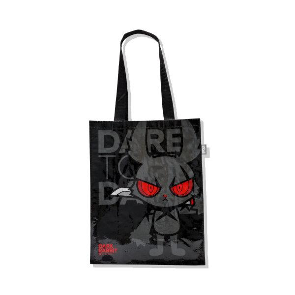 DARK RABBIT SHOPPING BAG (MULTI/BLACK)