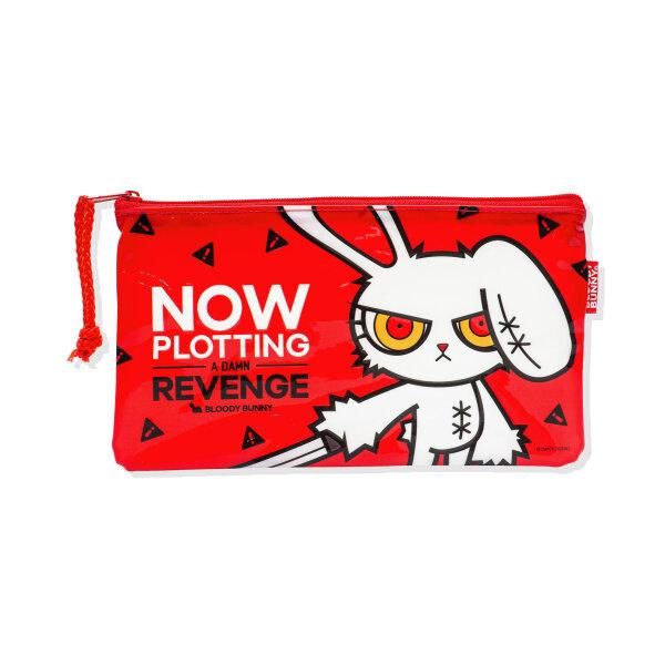 BLOODY BUNNY PENCIL PVC BAG (CLASSIC/RED)