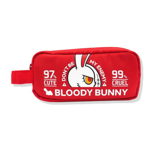 BLOODY BUNNY(CLASSIC/RED) POUCH BAG