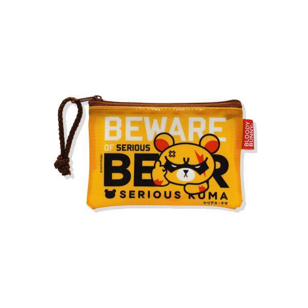 SERIOUS KUMA COIN PVC BAG (CLASSIC/YELLOW)