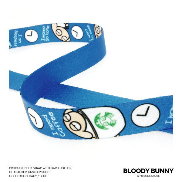 UNSLEEP SHEEP NECK STRAP (DAILY/BLUE)