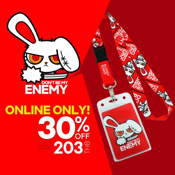BLOODY BUNNY(MY ENEMY) NECK STRAP