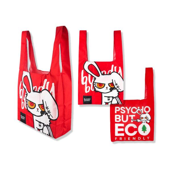 BLOODY BUNNY ECO BAG(RED)