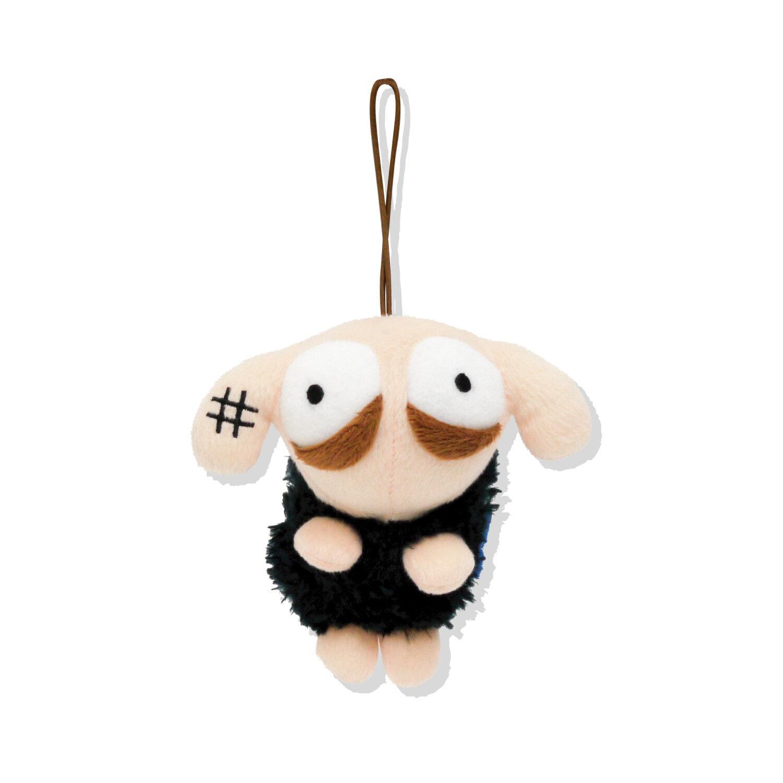 UNSLEEP SHEEP KEYCHAIN DOLL (BLACKSHEEP)