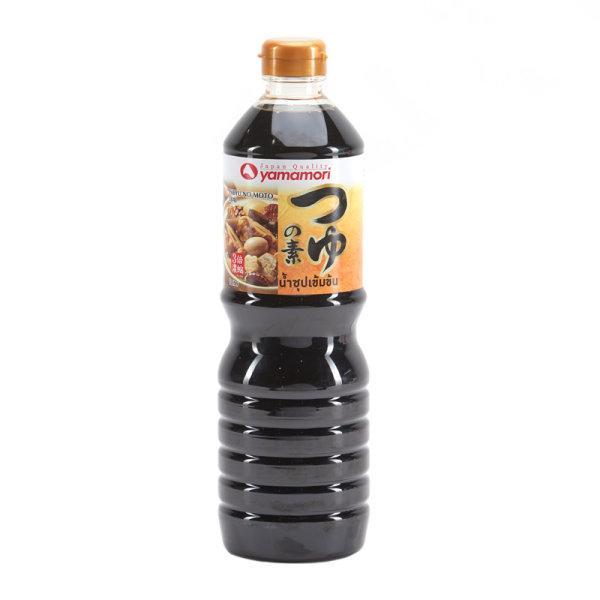 Yamamori TSUYU NO MOTO3BAI 1 L x1 pc ยามาโมริ น้ำซุปเข้มข้น 3 เท่า 1 ลิตร
