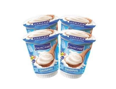 Dutchie Plain Yoghurt 135 g x 4 cups ดัชชี่ โยเกิร์ต รสธรรมชาติ 135 กรัม x 4 ถ้วย
