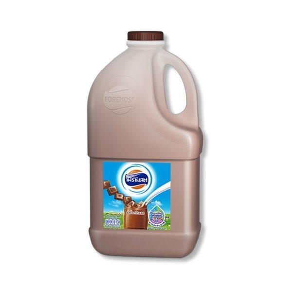Foremost Pasteurized Milk Chocoloate Flavor 2 L. โฟร์โมสต์ นมพาสเจอไรซ์ รสช็อกโกแลต 2 ล.
