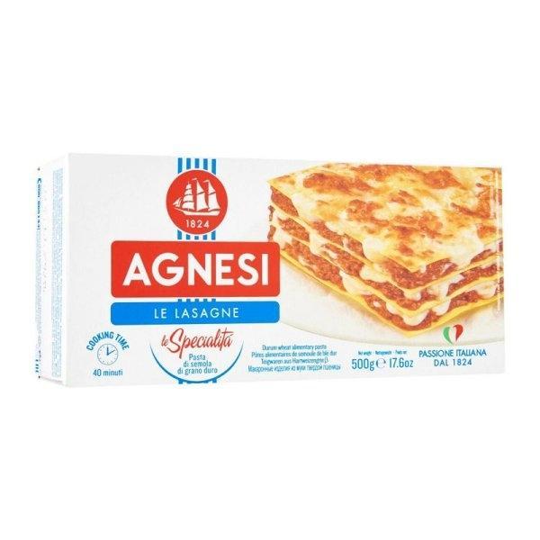 Agnesi LASAGNE #87 500 g x1 pc แอคเนซี ลาซานญา 500 กรัม