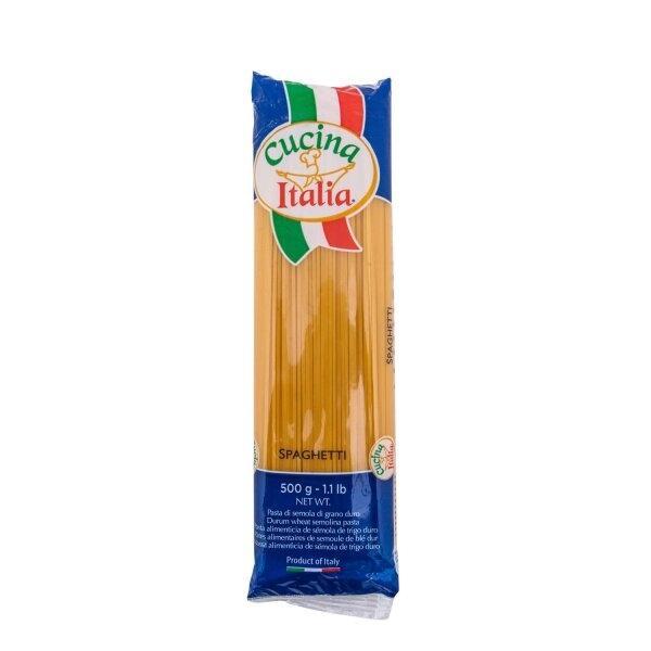 SPAGHETTI CUCINA ITALIA สปาเกตตี้ ตรา คูซิน่า อิตาเลีย 500 G.