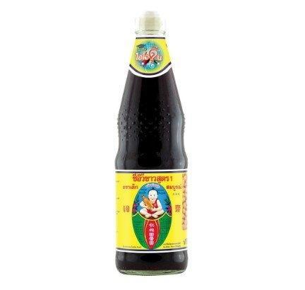 Deksomboon SOYBEAN SAUCE #1 700 ml. (3 bottle) เด็กสมบูรณ์ ซีอิ๊วขาวสูตร 1 ขนาด700 มิลลิลิตร แพ็ค x 3 ขวด