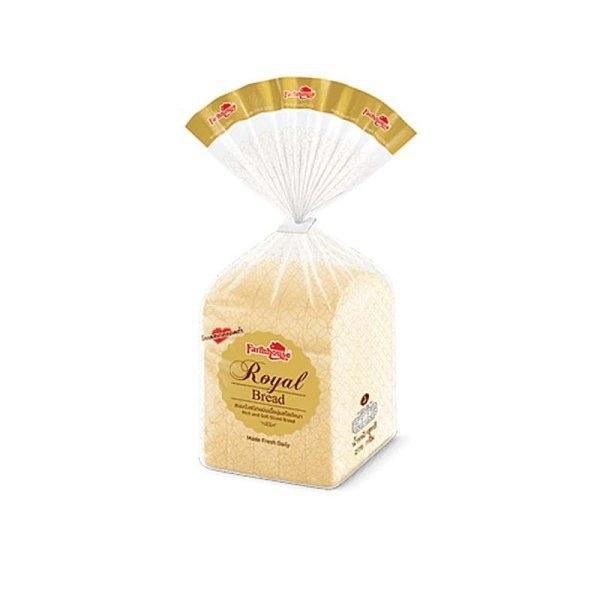 FARMHOUSE ROYAL SANDWICH BREAD 275 G. ฟาร์มเฮ้าส์ ขนมปัง รอยัลเบรด 275 กรัม