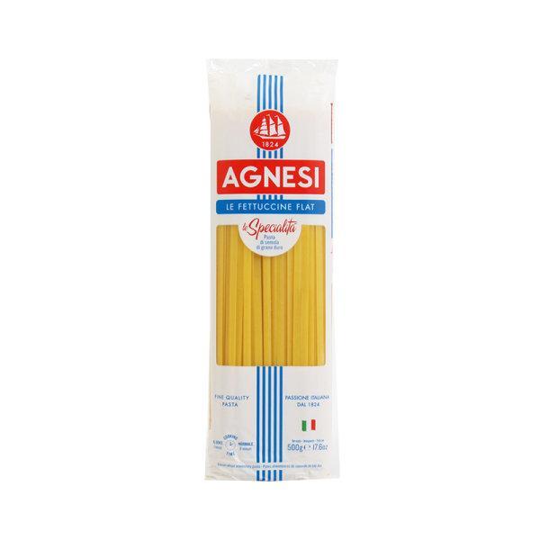 Agnesi Fettuccine (29) 500 g x 1 pc แอคเนซี สปาเก็ตตี้เฟตตูชินี 500 กรัม