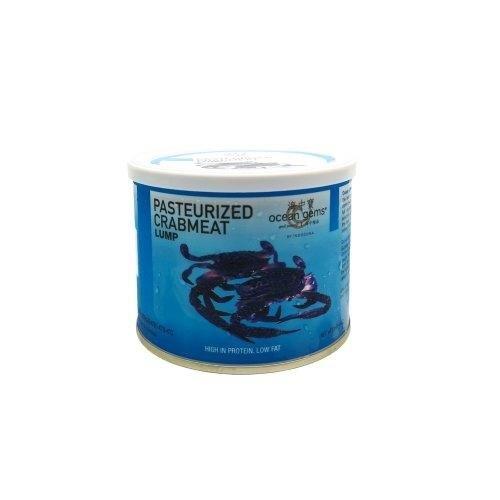 Ocean Gems CRAB PREMIUM LUMP MEAT เนื้อกรรเชียงปู 454 G.