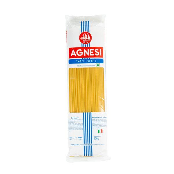 AGNESI CAPELINI#1 (500G.*1) แอคเนซี เส้นคาเปลลินี เบอร์ 1 500 กรัม
